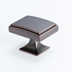 Rectangular Venetian Bronze Knob
